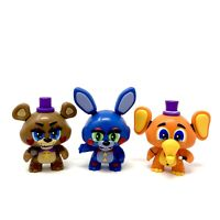 Funko Mystery Minis Lot Five Nights at Freddy's Rockstar Freddy Bonnie & Orville