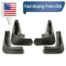 OE Front Rear 4 Pcs Fender Splash Mud Guards Flaps For 12-16 Ford Focus 4D Sedan