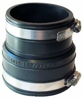 Fernco P1059-33 3-Inch by 3-Inch (Inner Diameter) Rubber Flexible Coupling Repai