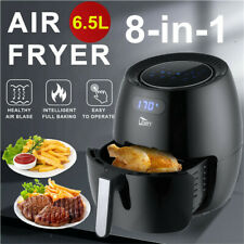 6.5L Air Fryer Healthy Frying Cooker Low Fat Oil Free Kitchen Oven Timer 1800W