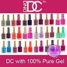DND GEL DC 001-144 Soak Off Gel Polish PICK YOUR COLOR .6oz LED/UV (List No.1)