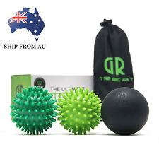 Massage Ball Set -Lacrosse and Spiky Ball Combo -Perfect for Body/Foot Massage