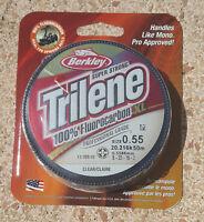 Fluorocarbon Berkley Trilene 100%  XL 50mt - 0.5586 mm - 20.2 kg