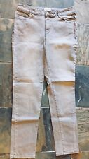 "Chadwick's Size 12 Straight Leg Jeans Silver/Gray 30"" Inseam"