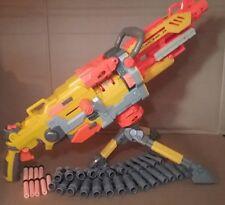 Nerf N Strike Vulcan EBF-25 Full Automatic Belt Fed Dart Gun 2009 WITH TRIPOD