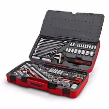 Teng Tools 127 Piece Tool Kit Professional 1/4  3/8 1/2 Drive Spanners Ratchets