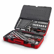 Teng 2018 Sale! 127 Pce Tool Kit Professional 1/4  3/8 1/2 Dr Spanners Ratchets