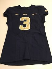 14038b7b0438 Game Worn Used Pittsburgh Panthers Pitt Football Jersey Nike Size 42  3  Grigsby