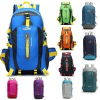 Men Boys Large Backpack Rucksack Fishing Sports Travel Hiking School Bag Ace UK