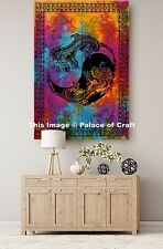 Dragon Yin Yang Poster Wall Hanging Indien Tie & Dye Decor Table Cloth Tapestry