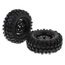 1 par de ruedas de 96 mm Neumáticos Neumáticos para 1/10 RC Rock Crawler