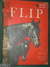 Dbl bk Vtg Kids Horse Story FLIP Wesley Dennis & I'm Tired of Lions Zhenya Gay