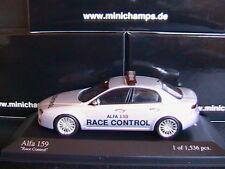 ALFA ROMEO 159 2006 SILVER RACE CONTROL MINICHAMPS 400120590 1/43 ISTANBUL