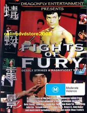 FIGHTS OF FURY - CLASSIC Martial Arts Kung Fu FIGHTING ACTION DVD (NEW SEALED)