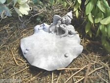 """Fairy latex mold w plastic backup plaster cement mould  4.5""""W  x 2.25""""H"""