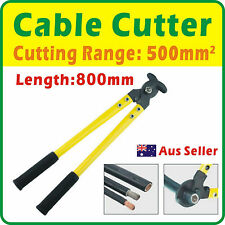 Cable Cutter Cut Copper Cable up to 500mm² Length 800mm Aus Seller