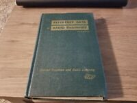 Antique 1954 Reference Data For Radio Engineers, 3rd Ed., Radio Collectible