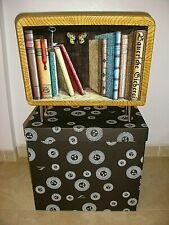 PIERO FORNASETTI MILANO STAND LIBRARY MAGAZINE RACK ITALY NEW IN BOX
