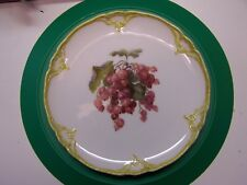 """KPM  7-1/2"""" CABINET PLATE,GRAPES,  SCEPTRE AND IRON CROSS MARKS"""