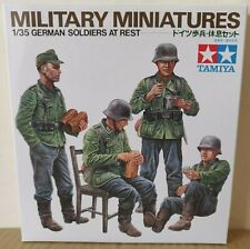 Tamiya 35220 German Soldiers at Rest 1:35 Scale Kit  NEW