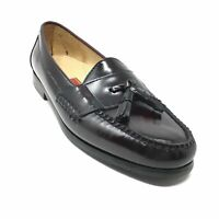 Men's Cole Haan City Loafers Dress Shoes Size 9.5 Burgundy Leather Slip On D2