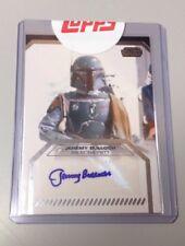 Star Wars Galactic Files Jeremy Bulloch - Boba Fett Autograph Card