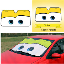 Car Retractable Windshield Sun Shade Visor Folding Block Cover Front Window 1pcs
