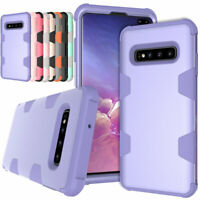Heavy Duty Rubber Hard Case Rugged Cover For Samsung Galaxy S10 S9+ S8 Plus S10e