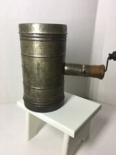 Vintage Rare Repath-Carver Co. REP Los Angeles, Cal Tin Sifter