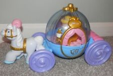 fisher price Disney Little People Cinderella's Royal Carriage and Cinderella