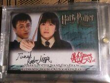 Harry Potter Order Phoenix Autograph auto Cho Chang Daniel Radcliffe Katie Leung