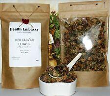 50g Flor de trébol rojo (Trifolium pratense) Embajada de salud orgánico 100% Natural