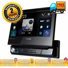 "Pioneer AVH-Z7200DAB 7"" Flip-Out Multimedia System Bluetooth CarPlay CD DVD DAB"