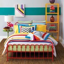 9 By Novogratz 3-Piece King Bar Code Multicolor Duvet Set & 2 Shams MLT01 Cotton