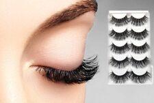 Mink 5 Pairs Natural Thick False Fake Eyelashes Eye Lashes Makeup Extension K02