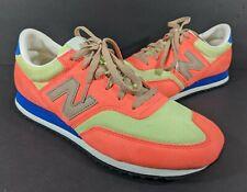 New Balance J Crew 620 Retro Sneakers Orange cw620bc1 2013 Shoes Size 9.5 Rare