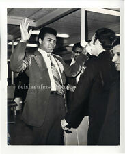 Muhammad Ali on the way to Mecca, Original-vintage Photo from 1971