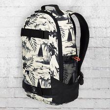 DC Shoes Rucksack Grind Backpack Board-Halter weiss schwarz Laptop Fach Notebook