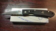 SPYDERCO VINTAGE C25GPS FRANK CENTOFANTE ATS-34 FOLDING KNIFE. ESTATE COLLECTION