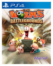 Worms: Battlegrounds (Sony PlayStation 4, 2014)