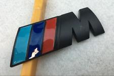3D ///M BLACK METAL EMBLEM BADGE STICKER DECAL FOR BMW  X1 3 5 SERIES M3 M5 M6