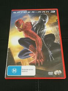 Spiderman 3 DVD Action Tobey Macquire Kirsten Dunst