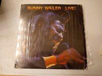 Bunny Wailer – Live ! - Vinyl LP 1983