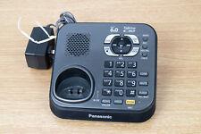 Panasonic Kx-Tg9341T Cordless Phone Base Answering Machine & Pqlv219 Ac Adapter