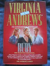 VIRGINIA ANDREWS - RUBY HARDBACK BOOK. EAN: 9780671718428.