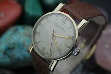 Vintage MATHEY-TISSOT Bumper Automatic Cal. N20 10K Gold Filled Men's Watch