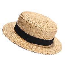 Sombrero de Paja Verano playa gorras Sombreros Unisex Sólido Moda Mujeres  Hombres Sol Al Aire Libre 0904b360765