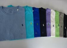 NWT Polo Ralph Lauren Classic-fit Solid Man's Crew Neck T-Shirts S M L XL 2XL