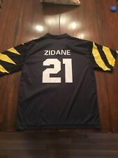 ZIDANE #21 SHIRT MENS LARGE