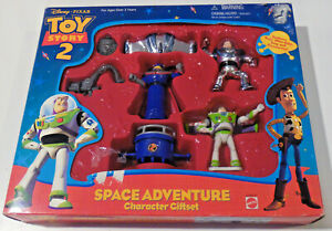 Toy Story 2 Space Adventure Gift Set Ultra Buzz Zurg Figure-SEALED w WEAR to box